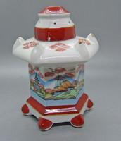 B183 Original aerozon japán porcelán diffúzor füstölő porcelán - restaurált