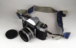 1C415 Régi PRAKTICA PL NOVA fényképezőgép 1.8/50