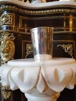 Ezüst keresztelő pohár.Nagy méret. Klasszikus stílusú.