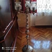 Különleges, porcelán díszítésű állólámpa !