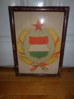 Régi kép kádár címer