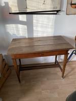 19. sz-i cseresznyefa varró asztal, íróasztal szép antik darab