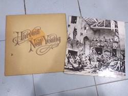 Jethro Tull, Harvest Neil Young - bakelit lemezek