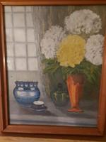 Szabadi Katalin olaj-vászon festmény