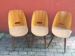 Tátra Nabytok retro mid century szék 3db egyben
