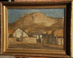 Nagy Gyula (1922-1966) : Hegyi falu
