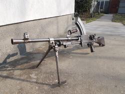 Bren MK I golyószóró, puska hatástalanítva