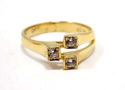 Köves arany gyűrű (ZAL-Au96480)