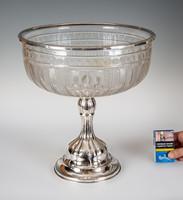 Ezüst óriás méretű asztalközép