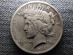 USA Peace dollár I. VH befejezésének emlékére .900 ezüst 1 Dollár 1924 (id45676)