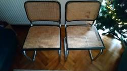 4 darab Marcell Breuer 'Cesca' chairs eladó