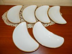 Rosenthal csontos tányérok 6 db.