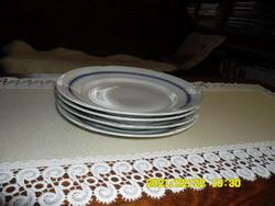 Finom porcelán  lapos tányér  4 db