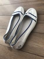 Fehér Lacoste balerina cipő