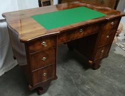 Biedermeier íróasztal felújítva