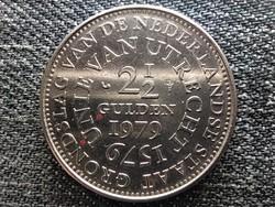Hollandia 400 éves az Utrechti Unió 2.5 Gulden 1979 (id45251)