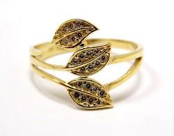 Leveles arany gyűrű (ZAL-Au96712)