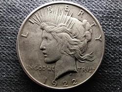 USA Peace dollár I. VH befejezésének emlékére .900 ezüst 1 Dollár 1922 S (id45674)