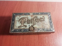 Perfect feliratú ritka fém doboz