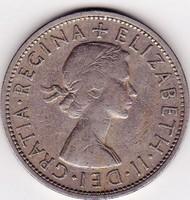 Egyesült királyság forgalmi pénzérme 1958