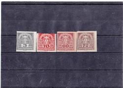 Ausztria újság bélyeg 1921