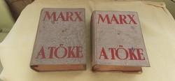 Marx Károly:A Tőke 1949.(2 példány)