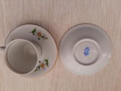 Alföldi porcelán kávéscsésze és alj