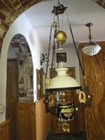 Majolikás lüszter / luszter lámpa