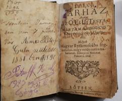 Örvendi Molnár Ferenc: Lelki tár-ház,1692