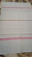 Antik Hímzett vászon  törülköző 90*57cm