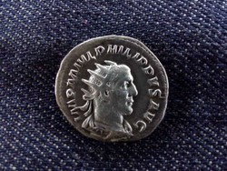 I. Philippus ezüst Antoninianus P M TR P III COS P P, Felicitas 246 (id6087)