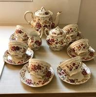 6 Személyes Zsolnay pillangós teáskészlet új szerű !!