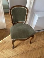 Neobarokk kárpitos szék
