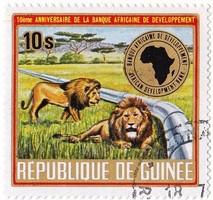 Guinea emlékbélyeg 1975
