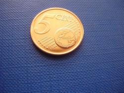 CIPRUS 5 EURO CENT 2015! KECSKE! ! UNC! RITKA!