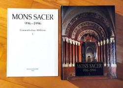 Pannonhalma 1000 éve Mons Sacer 1.2.3. rész keményborítós