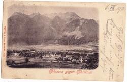 Ausztria képeslap bélyeggel 1907