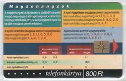 Magyar telefonkártya 0573  2001 Puska Nyelvtan 1    GEM 7     27.000 darab