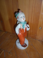 Royal dux vándor legény porcelán figura