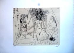 Picasso: - eredeti litográfia - leárazáskor nincs felező ajánlat!