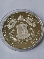 Ferenc József a Császár Magyarország Királya 999es ezüst PP  emlékérem 16 Gr 40 MM