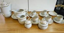 Alföldi porcelán teás készlet