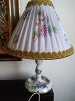 Herendi Viktória mintás éjjeli lámpa, eredeti lámpaernyővel és kapcsolóval!