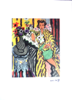 Certifikáció! Henri Matisse klasszikusa - litográfia