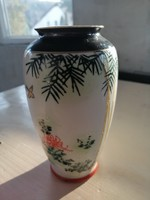 Japán Kutani porcelán váza
