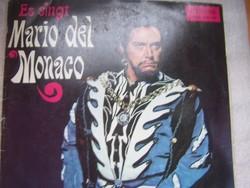 Mario del Monaco LP . Híres operaáriák a neves hangfenomén előadásában. A borító kicsit kopott