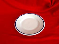 Zsolnai kék csíkos süteményes tányér