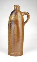 1D436 Régi Knoll és Mattoni karlsbadi cserép ásványvizes palack 23 cm