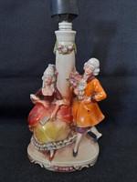 Porcelán lámpa test