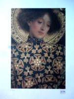 Gustav Klimt litográfiája certifikációval